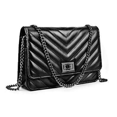 5736048e8dfd Small Crossbody Bag Shoulder Bag Quilted Purse for Women With ...