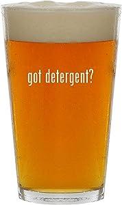 got detergent? - 16oz Clear Glass Beer Pint Glass