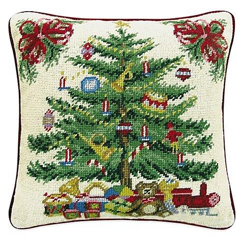 Hand-Stitched Christmas Tree