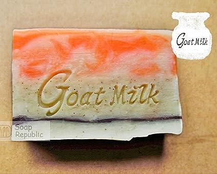 Amazon SoapRepublic Goat Milk 51x20mm Acrylic Soap Stamp