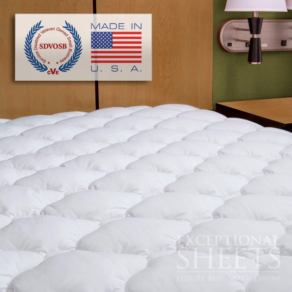 waterproof extra plush quilted fitted mattress topper mattress pad
