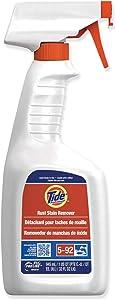 Proctor & Gamble Tide Pro Line Multi Purpose Rust Stain Remover Clear, 32 oz, Bottle, Peach, Liquid | 9/Case