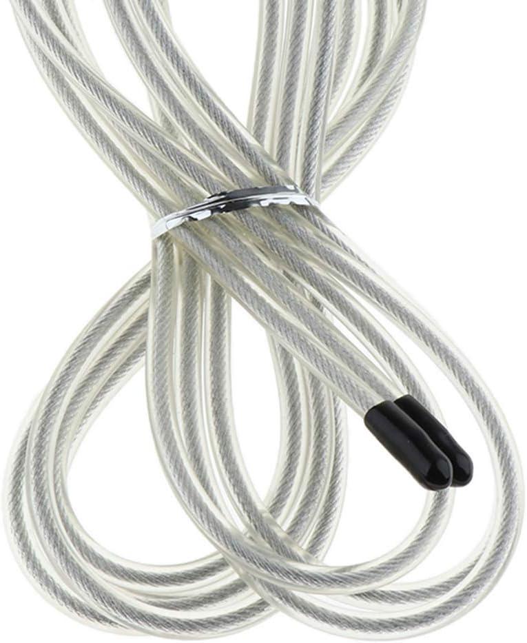 FLAMEER 5 teilig Premium Springseil Ersatz Speed Rope Ersatzkabel Fitness Sport Sprungseil Ersatzschnur Schnur
