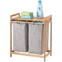 mDesign Estantería de baño con cestas para la