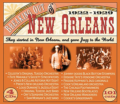 Armand Box Set - Breaking Out of New Orleans: 1922-1929