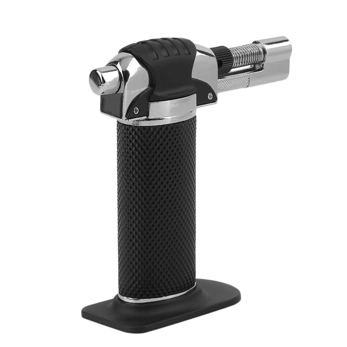 Micro Jet Blow Torch Brazing Soldering Dental Repairs Chef Blowtorch Lighter Welding Industrial Kitchen Cook Tool Black