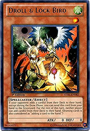 Yu-Gi-Oh! - Droll & Lock Bird (STBL-EN082) - Starstrike ...