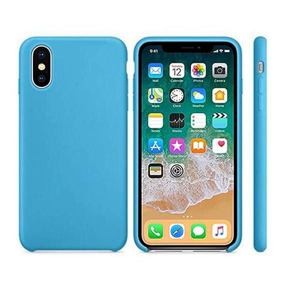 iphone xs case sky blue