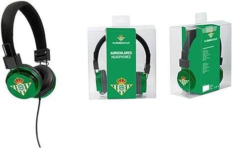 Seva Import Real Betis Balompie - 3206024 - Auriculares: Amazon.es: Deportes y aire libre