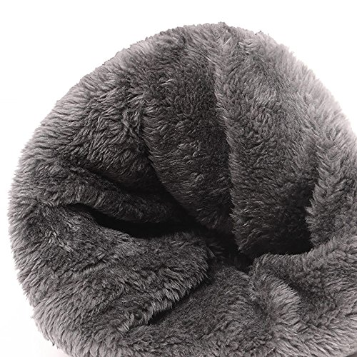 de ELEPHANT Gorro Hombres Mujer de DANCING Beanie Beige de Sombrero Grueso Invierno Punto Cálido Gorro Punto Marrón rwn8g0qr