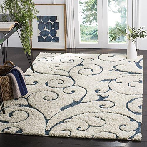 safavieh-florida-shag-collection-sg455-1165-scrolling-vine-cream-and-blue-area-rug-33-x-53