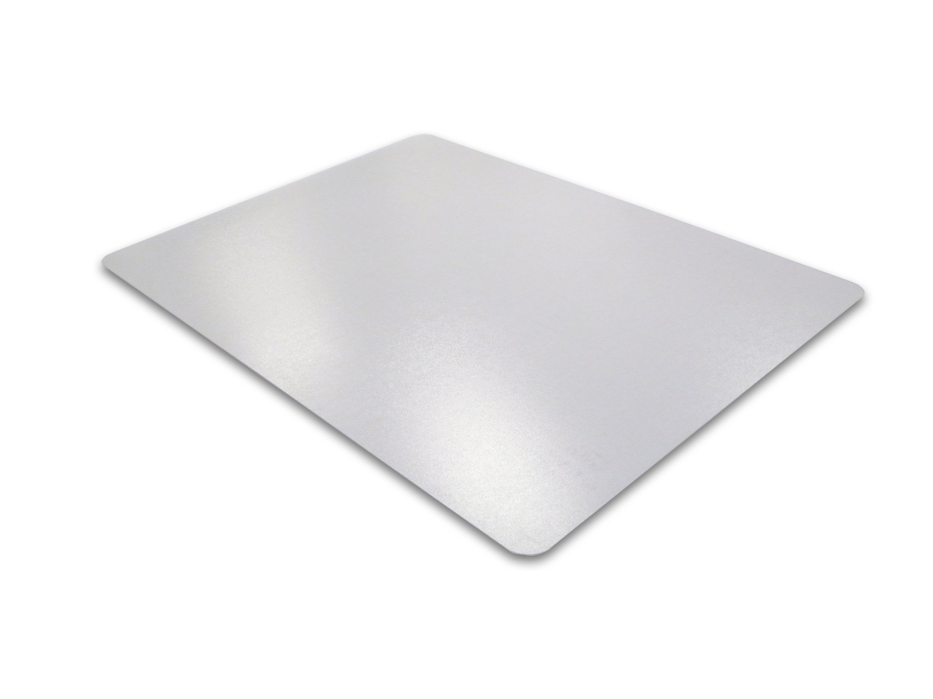 Ecotex Enhanced Polymer Chair Mat for Carpets up to 3/8'' Thick, 48'' x 79'', Rectangular, Clear (FRECO114879EP)