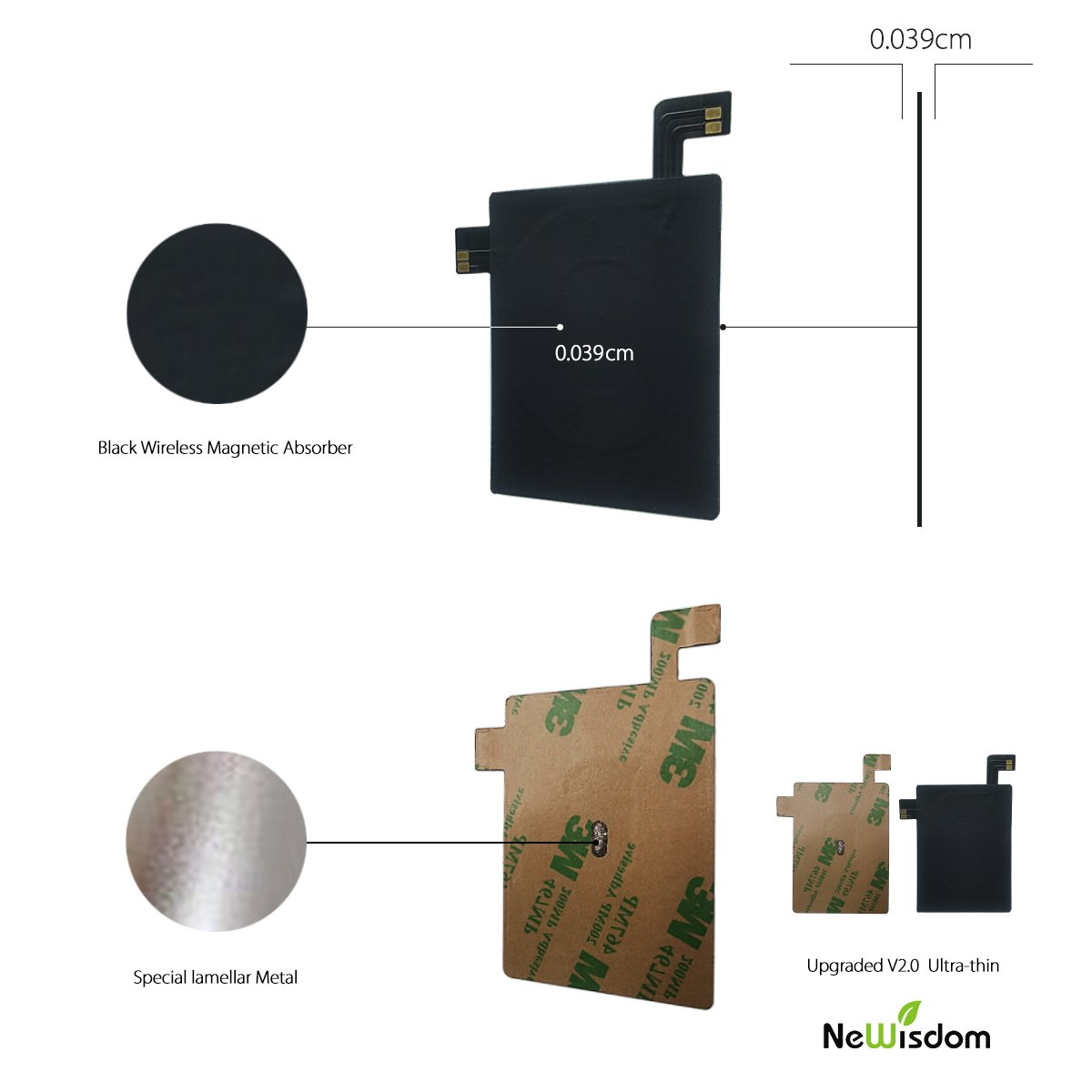 Amazon.com: NeWisdom [Upgraded V2.0 Ultra Slim]LG G4 Qi Wireless ...