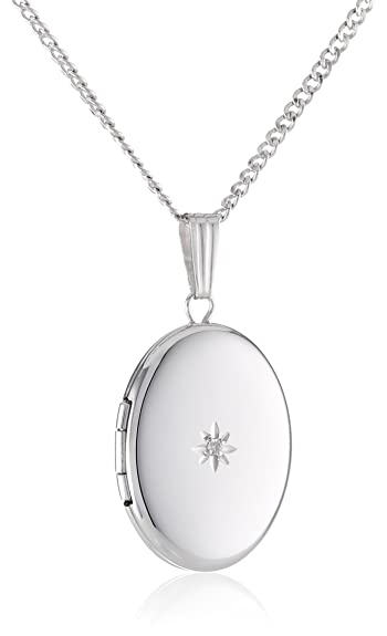 macys diamond s ct metallic pendant designer pav jewelry silver necklace w in heart tw sterling macy t pave locket lyst