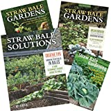 STRAW BALE GARDENS Collection of four books by Karsten, from his earliest to most recent, save on the entire collection.
