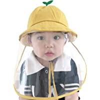 MEGICOT Baby 5-14 Months Protective Hats with Detachable Safety Face Shield, Anti-Fog Anti-saliva Anti-Spitting Full…