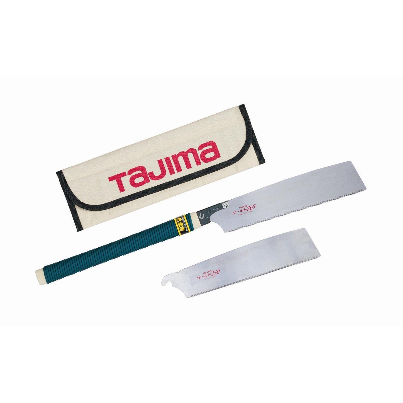 Tajima Japan Pull JPR-SET Rapid Pull Saw Set with 16 TPI and 19 TPI Blades Model: JPR-SET