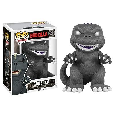 Funko Exclusive Black and White Godzilla Pop! Vinyl Figure: Toys & Games