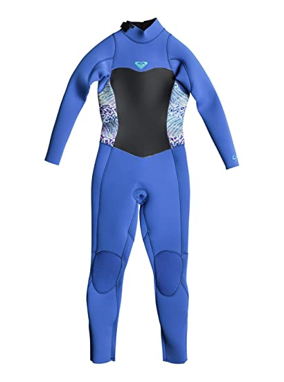 231732b743 Roxy 3 2mm Syncro Series - Back Zip GBS Wetsuit for Girls 2-7 ...
