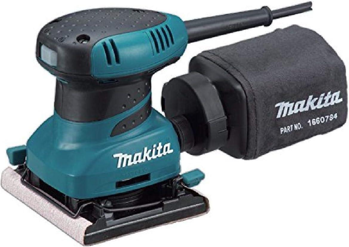 Makita BO4556 2 Amp Finishing Sander, Teal