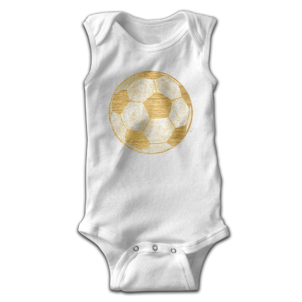 Efbj Infant Baby Girls Rompers Sleeveless Cotton Onesie,Football Outfit Autumn Pajamas