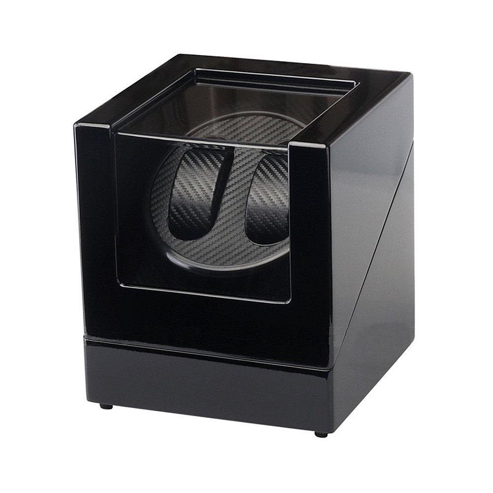 IRON JIA'S Double Decorative box Automatic Mechanical Watch Winder,Piano Paint,Ultra-quiet Mabuchi Motor Rotator