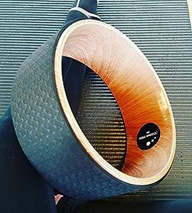 MyYogaWheels Roue de Yoga Pilates Effet bois Id/éal pour /équilibre//fitness Support pour dos tout en s/étirant Positions Asana