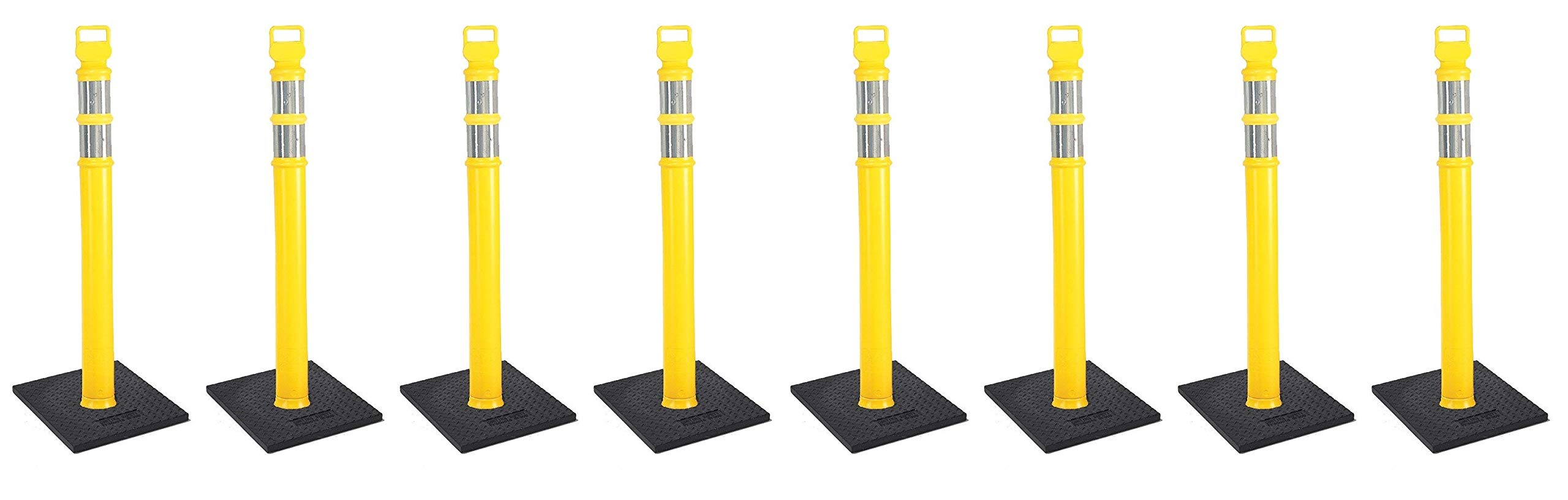 Cortina#03-747YRBC-2-45 Yellow Delineator Post Kit (4 X Pack of 2)