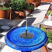 MASO - Bomba Solar para estanques, Floating Fountain-2.5W