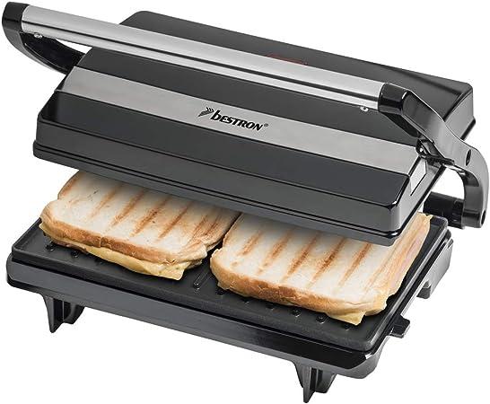 Panini Sandwichmaker grill elettrico Sacchetti Grill per griglia a contatto grill da tavolo
