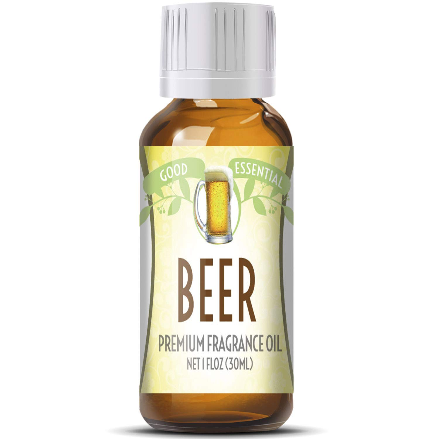 Beer Scented Oil by Good Essential (Huge 1oz Bottle - Premium Grade Fragrance Oil) - Perfect for Aromatherapy, Soaps, Candles, Slime, Lotions, and More!