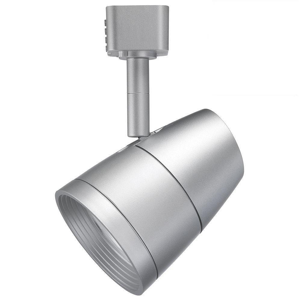 Juno Lighting R600L G2 2700K 80CRI PDIM UNF SL Dimmable 9.5W LED Trac Head, 50W Equivalent, Silver