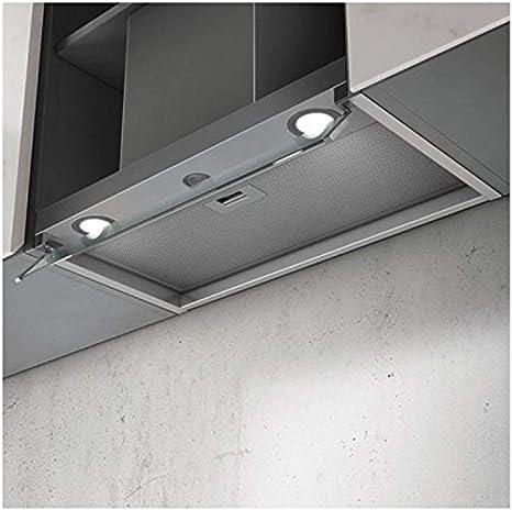 Elica Box in LX/IX/A/60 Encastrada Acero inoxidable B - Campana (Canalizado, 67 dB, 50 cm, 50 cm, Encastrada, Acero inoxidable): 349.44: Amazon.es: Grandes electrodomésticos
