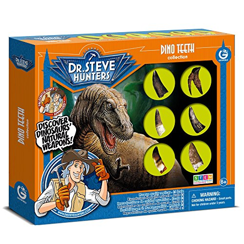 Uncle Milton 6 Piece Dr. Steve Hunters Dino Teeth Replica for sale  Delivered anywhere in USA