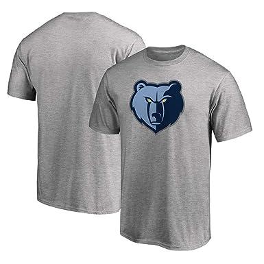 Camiseta NBA Grizzlies Baloncesto Masculino Cómodo De Manga Corta ...