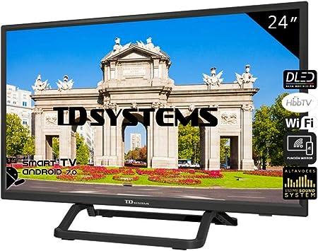 TD Systems Televisores Led (32 Pulgadas HD) (24 Pulgadas HD Smart (K24DLX10HS)): Amazon.es: Electrónica