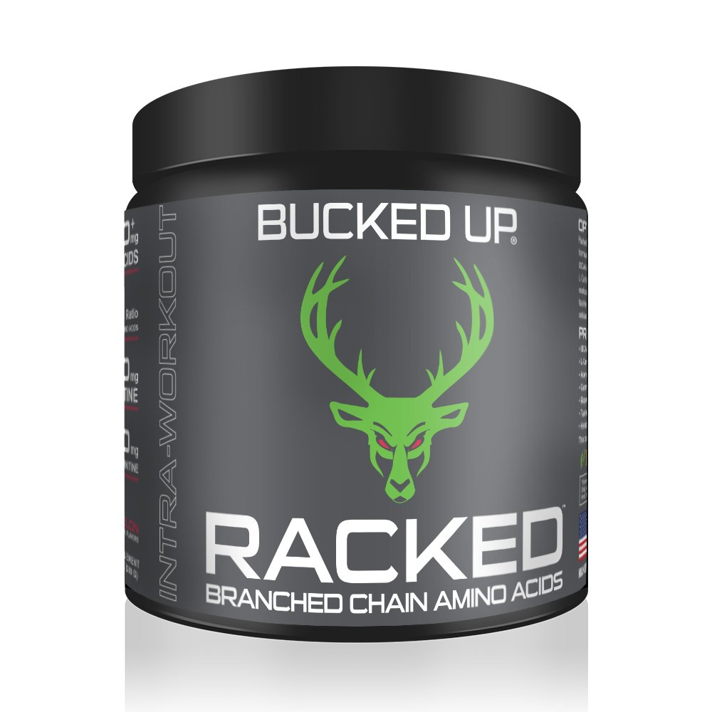 RACKED™ Branch Chained Amino Acids - Watermelon Flavor -''BCAAs That You Can Feel!''