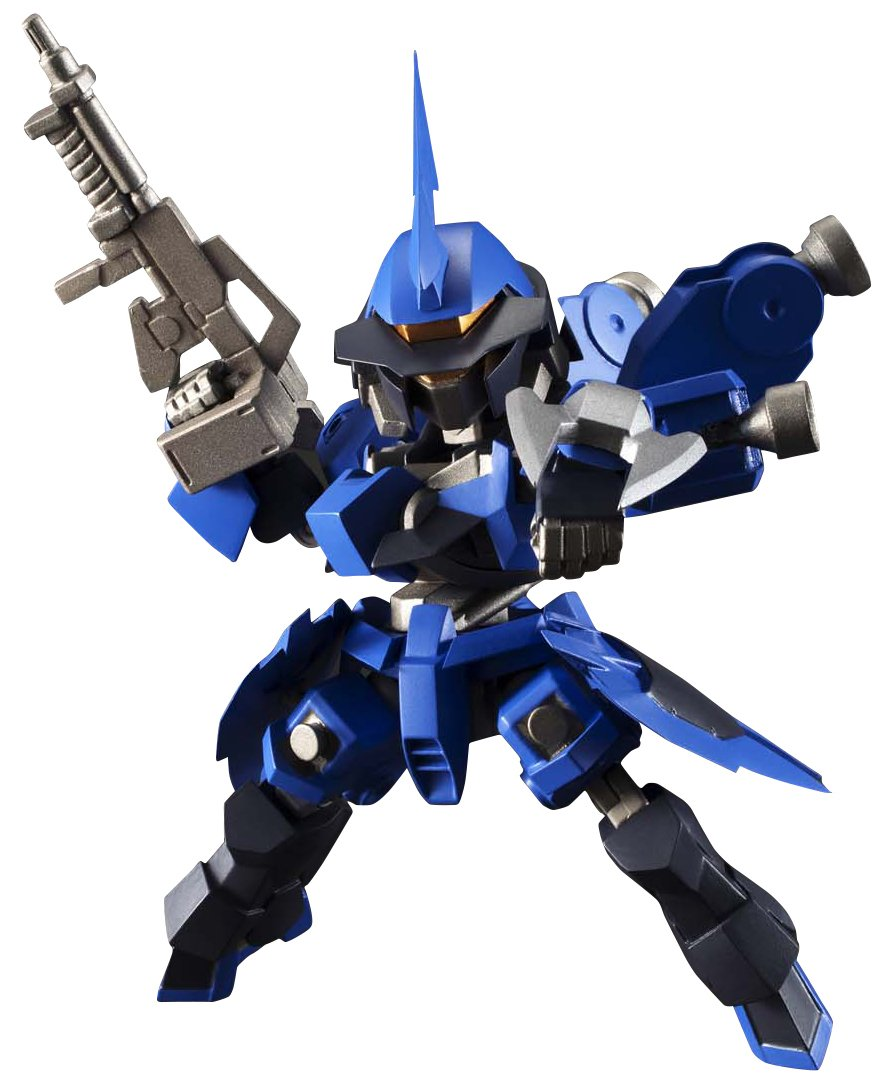 Figure Bluefin Distribution Toys BAN02272 Bandai Tamashii Nations NXEDGE Style MS Unit Schwalbe Graze McGillis Custom