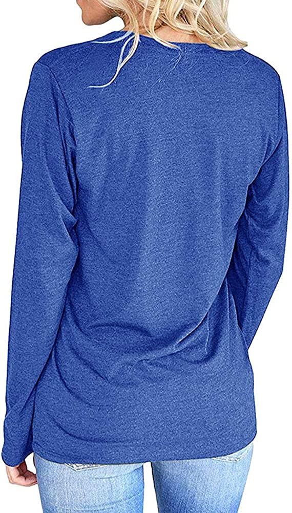 Nlife Women Mama Bear Shirt for Women Long Sleeves Loose Fit Casual Pullover Pocket