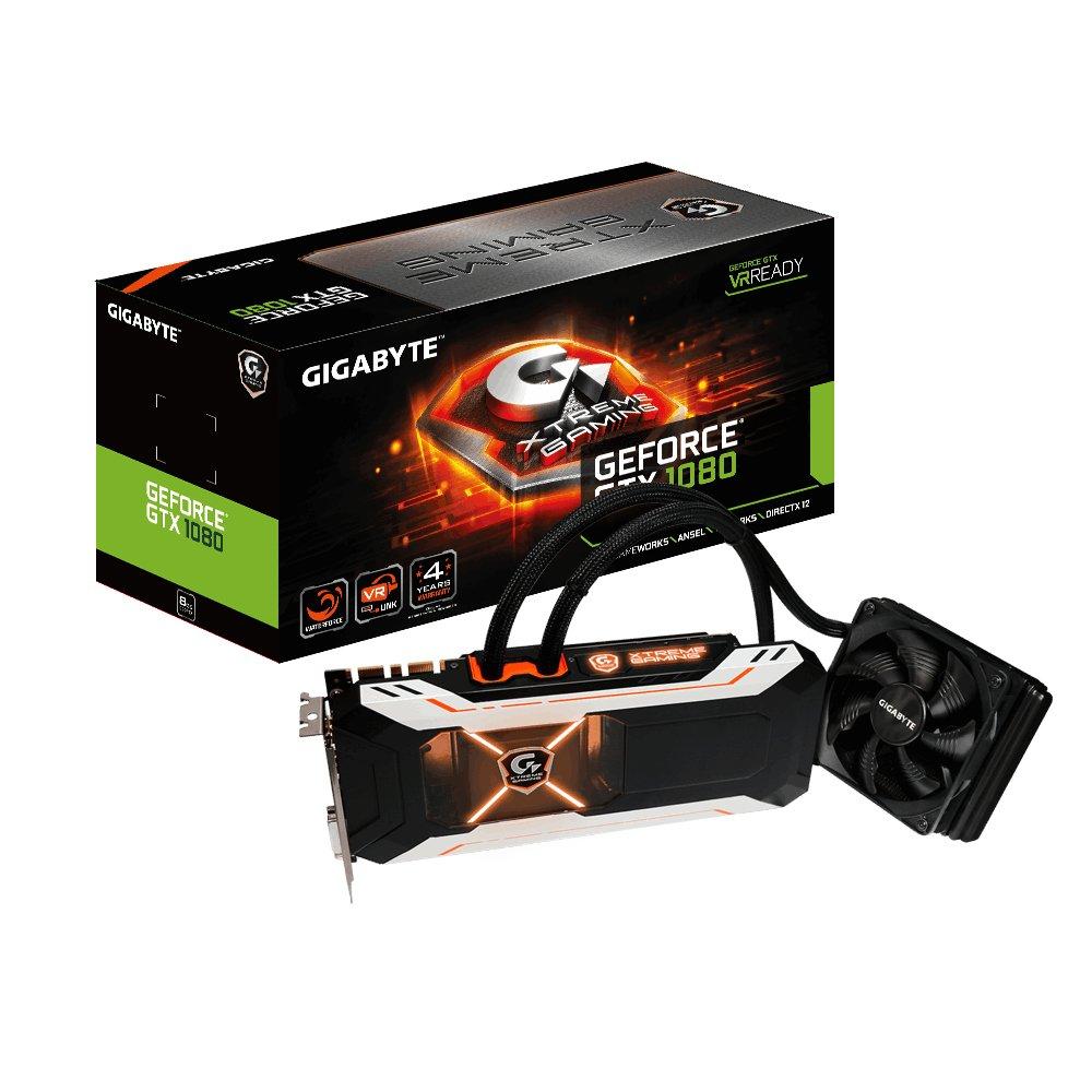 Gigabyte GeForce GTX 1080 Xtreme Gaming Water Cooling