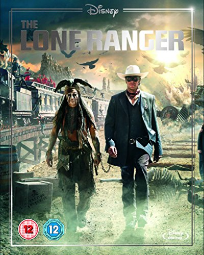 Lone Ranger (Limited Edition Artwork Sleeve) [Blu-ray] [Region Free]