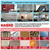 HASKO accessories - Super Powerful Vacuum Suction Cup Hook Holder - Organizer for Towel, Bathrobe and Loofah,Chrome