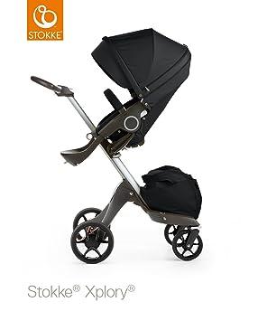 Stokke Xplory V5 plata carrito de bebé - negro: Amazon.es: Bebé
