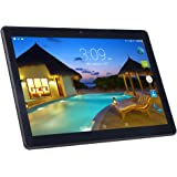 Android Tablet PC 10.1 pollici, 1920 x 1200 Full HD IPS Touchscreen 2 GB RAM 32 GB memoria Quad Core CPU Dual Camera 2 MP e 5 MP con Wifi Bluetooth GPS (Nero)