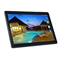 10 Inches Android Tablets PC, 7.0 Android WiFi BENEVE 10.1 Tablets with IPS 1920x1200 Touch Screen, 2GB RAM +32GB ROM, Bluetooth and 2.0+5.0MP Dual Camera-Black