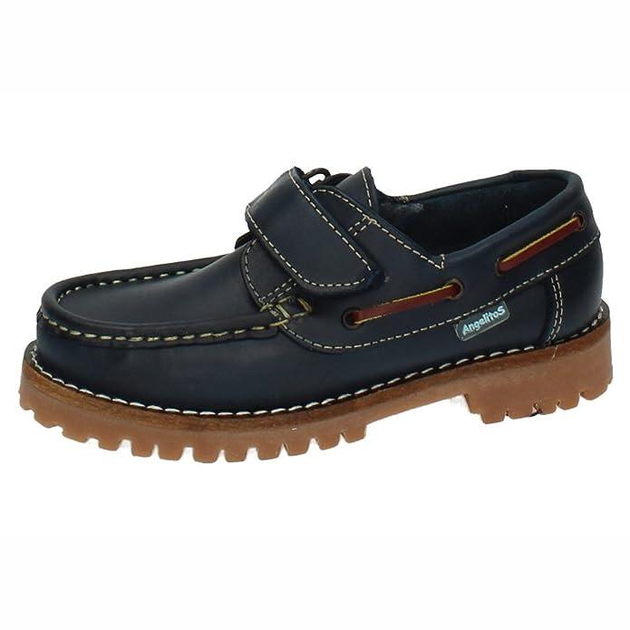 ANGELITOS 804 Zapatos NAÚTICOS NIÑO Zapatos MOCASÍN: Amazon.es: Zapatos y complementos