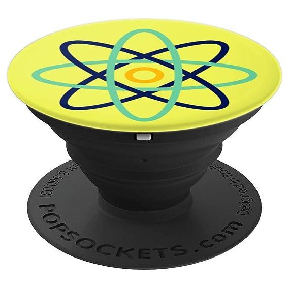 Amazon Atomic Atom Symbol Science Nerd Geek Yellow Gift