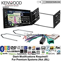 Volunteer Audio Kenwood Excelon DNX694S Double Din Radio Install Kit with GPS Navigation System Android Auto Apple CarPlay Fits 1995-1997 Ford Explorer, Ford Ranger, Lincoln Town Car