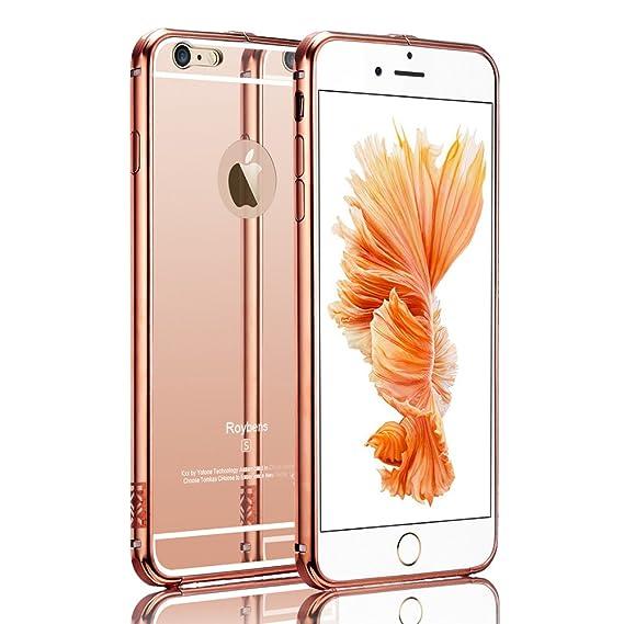 newest 9c43c bc645 Amazon.com: iPhone 6S Case,Roybens Luxury 2 in 1 [Air Aluminum ...