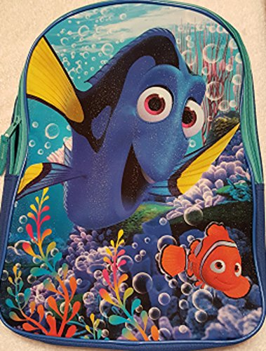 [Todder Finding Dory Nemo Kids Back to School Pre-school Elementary Toy Figure Bookbag] (Homemade Disney Halloween Costumes)